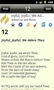 Advent Hymnal PRO- screenshot thumbnail
