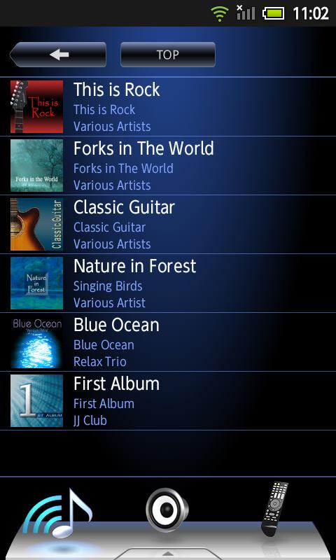 Onkyo Remote for Android 2.3- screenshot