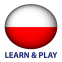Learn and play. Polish 1000 words icon
