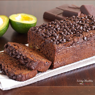 Avocado Chocolate Bread (Gluten and Grain Free, Dairy Free)