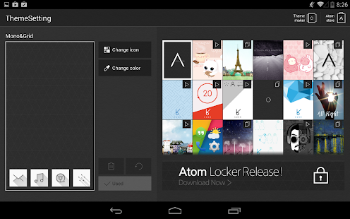 Atom Launcher- screenshot thumbnail