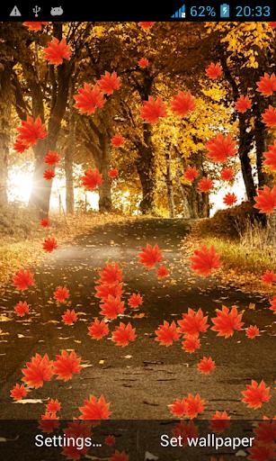 Galaxy S5 Autumn LiveWallpaper