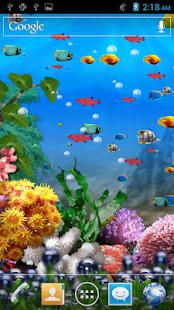 Galaxy Aquarium Wallpaper