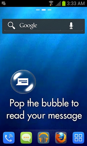 SMSBubbles Free Live Wallpaper