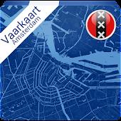 Vaarkaart Amsterdam 2014