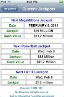 Screenshot of New York Lottery
