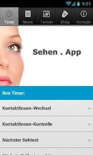 Sehen . App- screenshot thumbnail