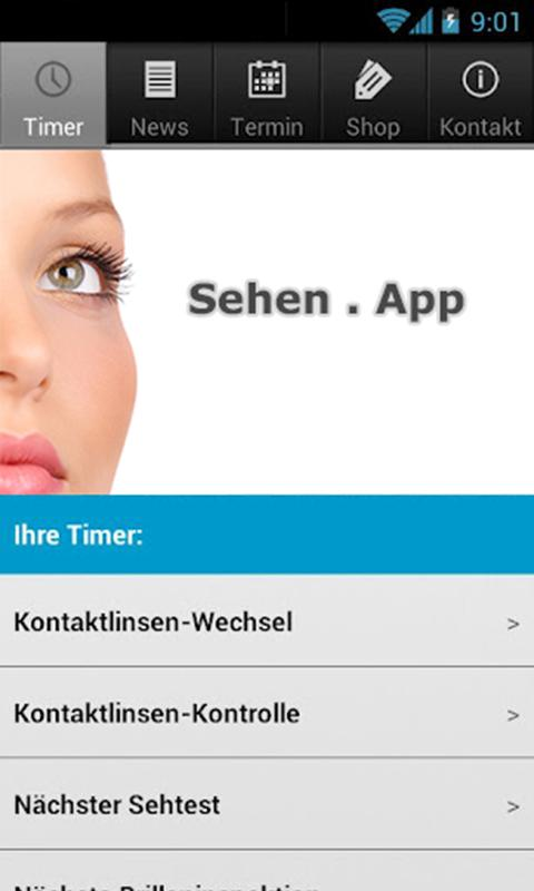 Sehen . App- screenshot