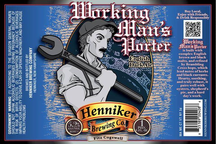 Logo of Henniker Working Man's Porter