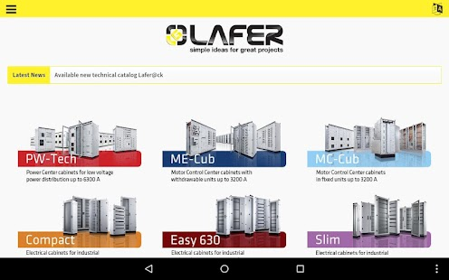 Lafer - Electrical Cabinets- screenshot thumbnail