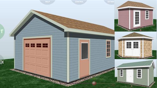 App udesignit 3d garage shed apk for windows phone for Garage design app