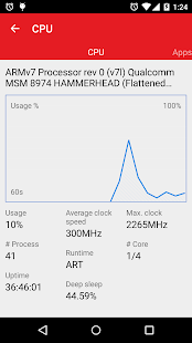 App Task Manager: monitor CPU, RAM, and battery APK for Windows Phone