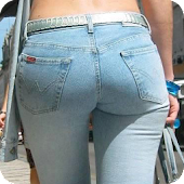 Sexy Girls in Tight Jeans