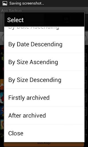 App Backup  screenshots 6