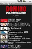 Screenshot of DominoMagazin.com