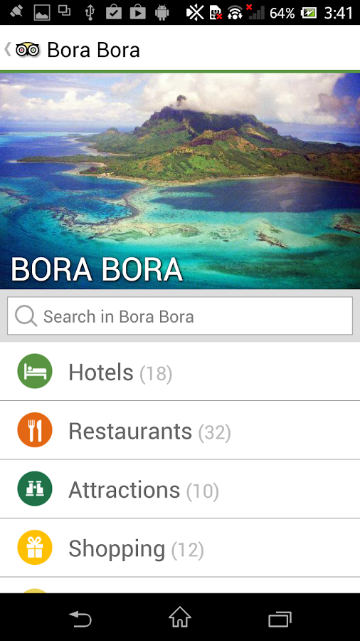 TripAdvisor Hotels Flights - screenshot