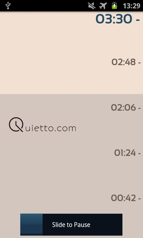 Quietto Lite - screenshot
