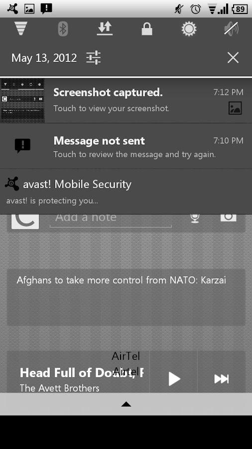 Frost CM11 AOKP Theme- screenshot
