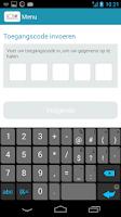 Screenshot of ICS prepaid Card App