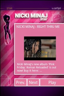 Nicki Minaj - screenshot thumbnail