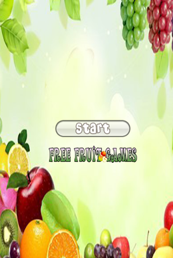 Free Fruit Games App