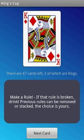 King's Cup - Drinking Game Screenshot