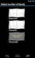 Screenshot of Linear Clock Widget