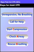 Screenshot of Rays First Aid CPR ABCs