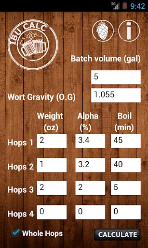 IBU Calc- Hops Calculator