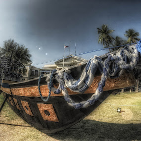 BOAT IN CAPITOL by Chase Alog - Transportation Boats