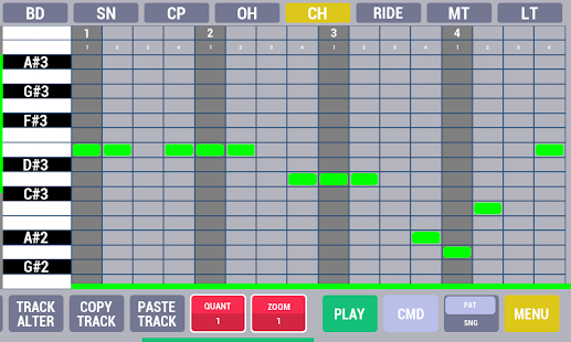 Cadeli drum machine free- screenshot thumbnail