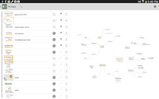 Screenshot of MindBoard Pro for S-Pen