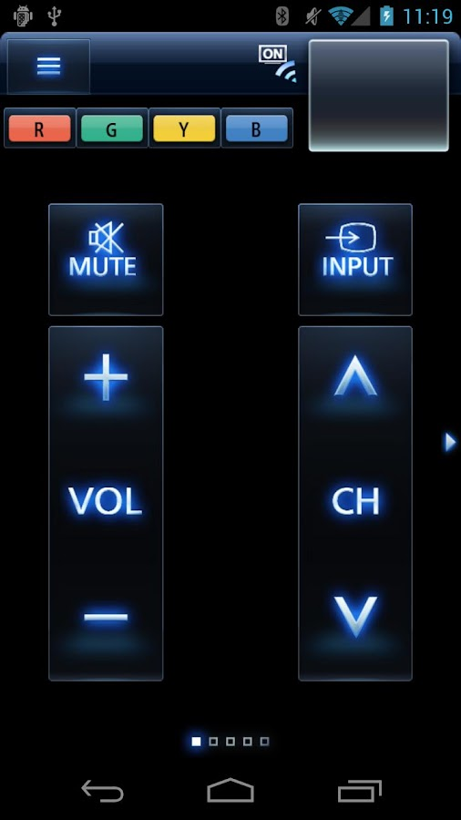 Panasonic TV Remote 2- screenshot