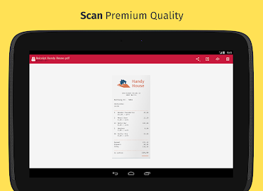 Scanbot - PDF Document Scanner Screenshot 2