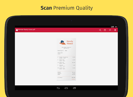 Scanbot - PDF Document Scanner - screenshot thumbnail