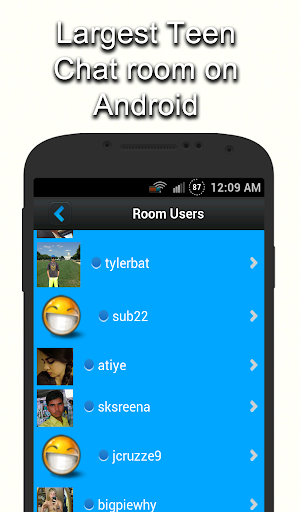 Us chat rooms for teen