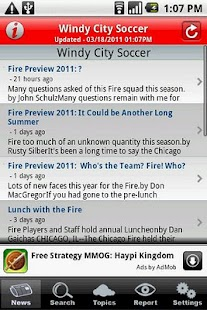 Windy City Soccer - screenshot thumbnail