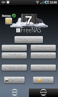 mFreeNAS 7 - screenshot thumbnail