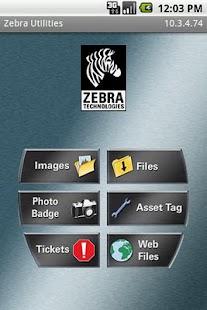 Zebra Utilities- screenshot thumbnail