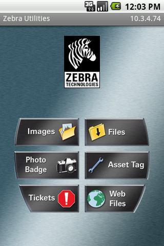 Zebra Utilities- screenshot