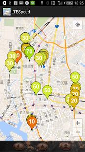 台灣LTE 4G分布