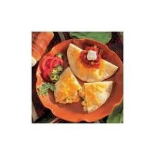 Chicken Quesadillas.