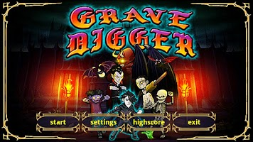 Screenshot of Grave Digger - Temple'n Zombie