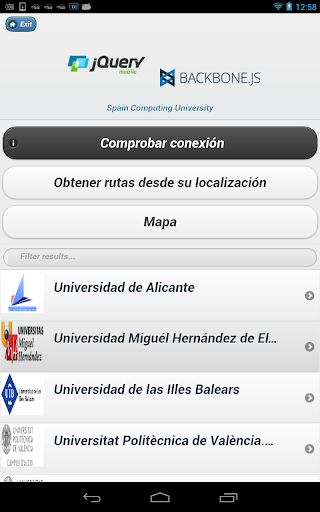 Computing University Mobile
