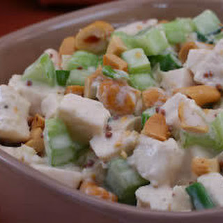 Kalyn and Mimi's Chicken Salad with Mustard and Cashews.