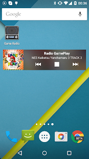 Game radio 8-bit music - screenshot thumbnail
