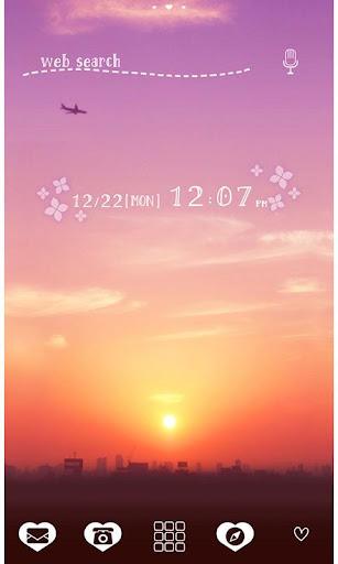 Sky Wallpaper Purple Sunrise 1.0.1 Windows u7528 1