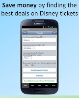 Screenshot of Disney World Lines