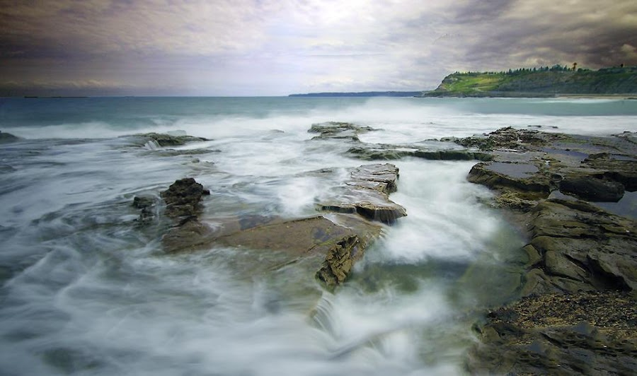 Yesterday's long exposure :-) by Karynne Lawler - Landscapes Waterscapes