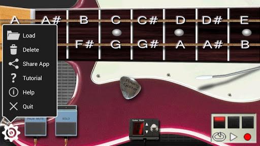 Power guitar HD - chords, guitar solos, palm mute  screenshots 4